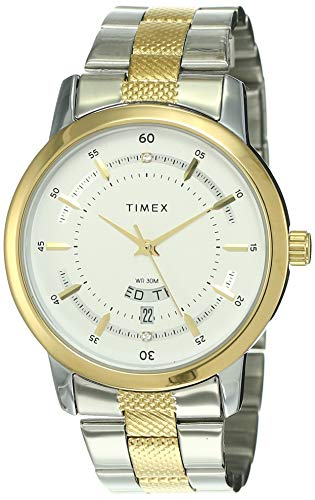 Timex Classics Analog Silver Dial Men #39;s Watch G910