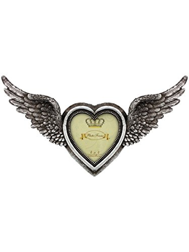 Alchemy Shades Of Winged Heart Photo Frame Ornament - Ornament Winged Heart