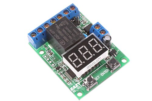 NOYITO Voltage Detection Control Time Delay Switch Relay Over-Voltage Under-Voltage Protection Board Suitable for Voltage Detection Battery Charge Discharge Control (12V)