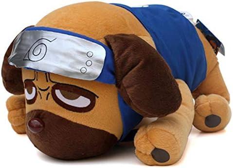 zcm Juguete de Peluche 40 Cm Anime Cartoon Naruto Kakashi Pakkun Perro Peluches Muñeca Pakkun Perro Peluche Suave Peluches Juguetes para Niños