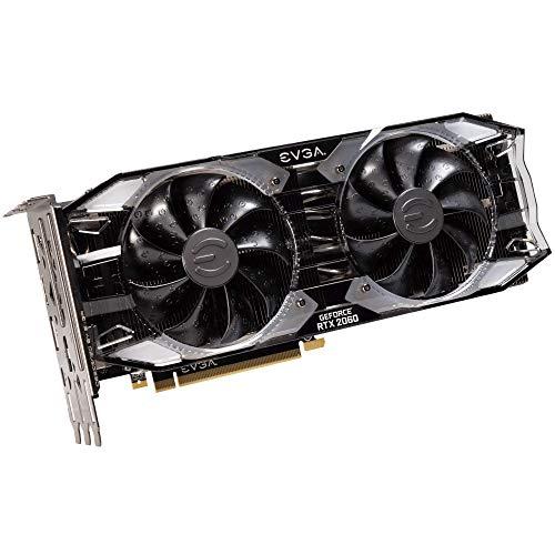 EVGA GeForce RTX 2060 SUPER XC GAMING, 8GB GDDR6, Dual HDB Fans, RGB LED, Metal Backplate, 08G-P4-3162-KR