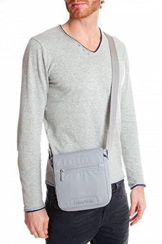 Calvin Klein Jeans - Bolso al hombro para hombre Gris gris Gris - gris