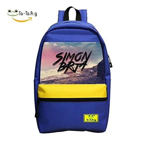 School Backpacks Simon Barja Blue Children Shoulder Bags