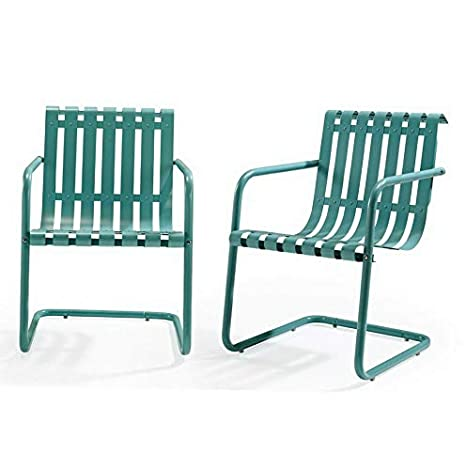 Amazon.com: Hebel Furniture Gracie Patio Accent Chair - Set of 2 | Model CCNTCHR - 415 |: Kitchen & Dining
