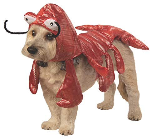 Rubie's Mr. Claws Lobster Pet Costume, Small