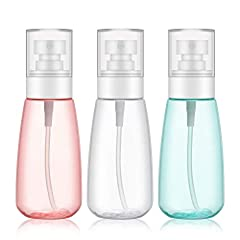 Product Specifications  Material: PET (Polyethylene terephthalate)  Color: red + green + translucent  Unit Size: 1.8 x 5.2 inch   4.6 X 13.1 cm  Volume: 100ml/3.4 oz  Package includes: three bottlesNOTES: 1. The application temperature for th...