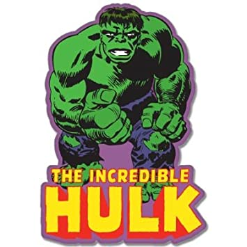 Incredible hulk marvel comic vynil car sticker decal select size
