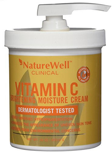 NatureWell Vitamin C Brightening Moisture Cream 16 oz