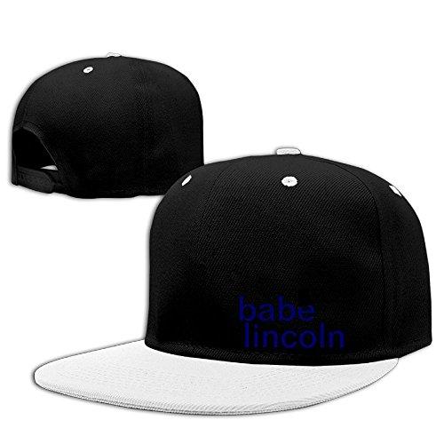 Kooiico Men&women Babe Lincoln Running Hip-hop Baseball Cap - Town University Center 6
