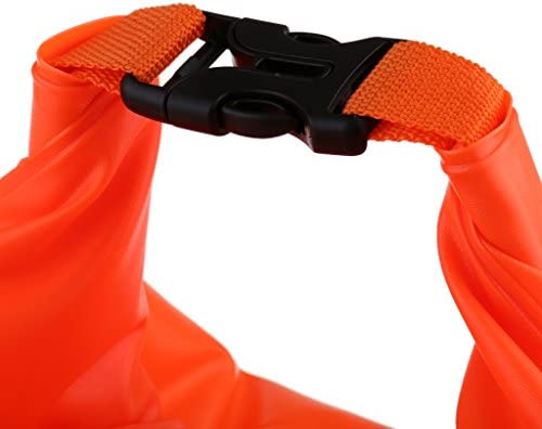 Perfeclan スイムブイ 水泳ブイ オープンウォータースイ  PVC製 トライアスリート用軽量ブイ 浮き具