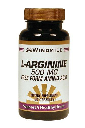L-ARGININE CAPS 500 MG WMILL 50
