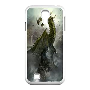 JamesBagg Phone case dragon at sky pattern For SamSung Galaxy S4 Case FHYY443837