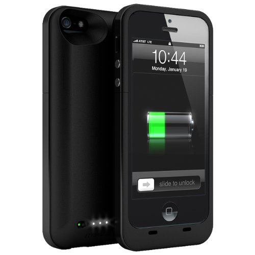 Maxboost Atomic Plus External Protective iPhone 5 Battery Case – Matte Black (built-in 3000mAh Long-Lasting Battery, Fits All Version of iPhone 5 including ATandT, Verizon, Sprint and T-mobile), Best Gadgets