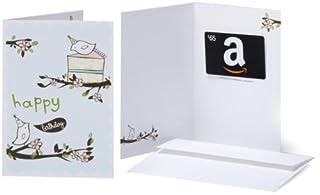 Amazon.com $65 Gift Card in a Greeting Card (Birthday Birds Design) (B009WD1WOO) | Amazon price tracker / tracking, Amazon price history charts, Amazon price watches, Amazon price drop alerts