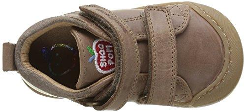 ShoopomKidur Bi Velcro - Primeros Pasos Bebé-Niñas Beige - Beige(Snow Taupe)