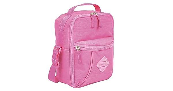 4b7be9af9 Lancheira Marmiteira Rosa Claro Pocket Sestini Lunch Crinkle:  Amazon.com.br: Papelaria e Escritório