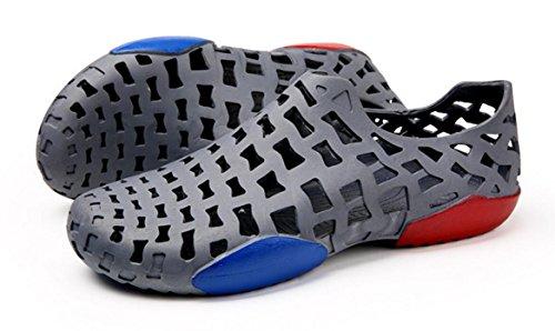 Playa Zapatos Zapatos De CYGG Para Agua De Cool Hombre Sandalias Gray Ocasionales Hole De De Zapatos Pescador Zapatos Verano q8twvBR