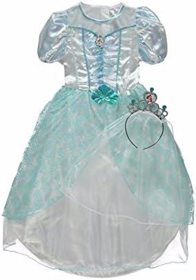 George Disney Princess Ariel Sirenetta Costume Costume Libro Day