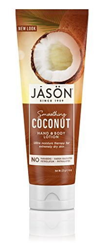 JASON Smoothing Coconut Hand & Body Lotion, 8 oz.