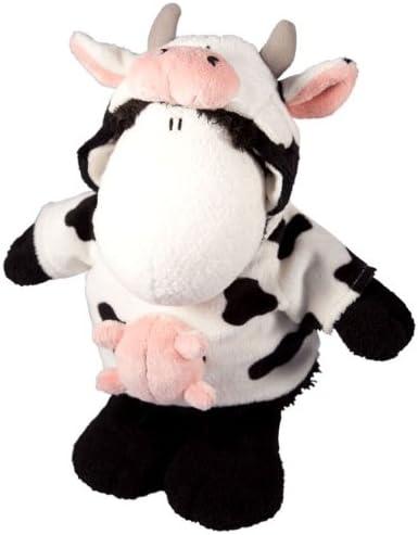 Sheepworld 41585 - Oveja de Peluche con Disfraz de Vaca (tamaño ...