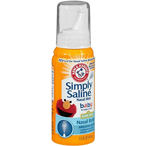 Simply Saline Nasal Mist Baby 1.5 oz (Pack of 10) by Simply Saline