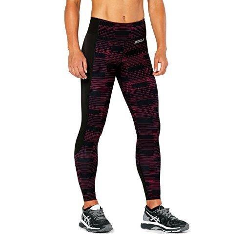 U nbsp;x Broken nbsp;fitness 2 Line peacock A Donna Wa4602 Compressione Portaoggetti Pink Black Da Con A5wqWTdOw
