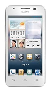 "Huawei Ascend G510 - Smartphone libre Android (pantalla 4.5"", cámara 5 Mp, 4 GB, Dual-Core 1.2 GHz, 512 MB RAM), blanco"