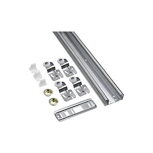 National Hardware N343-111 771 By-Passing Door Hardware in Galvanized, 48''