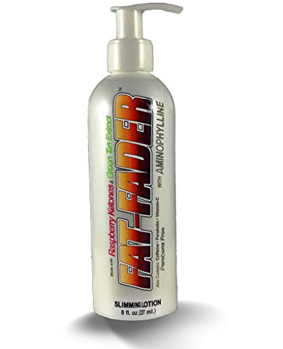 Cellulite Reducer - Fat-Fader Body Toning Lotion w 2.5% Aminophylline & Raspberry ()