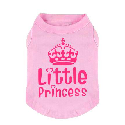 Little Girl Dog Tshirt - 2