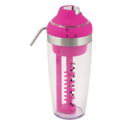 True Fabrications Vortex Electric Pink Cocktail Mixer and Dispenser (Electric Martini Shaker)