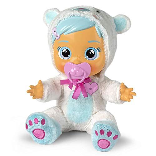 Bebés Llorones Kristal está malita – Muñeca interactiva que llora de verdad y emite sonidos reales de bebé