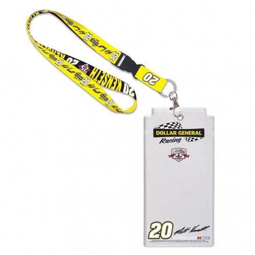 Matt Kenseth #20 2016 Daytona 500 NASCAR Schedule Credential Holder & Lanyard