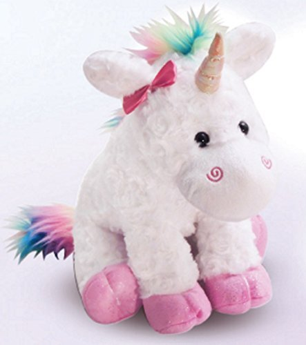 The Petting Zoo Plush Rainbow Unicorn - 10 Inches ()