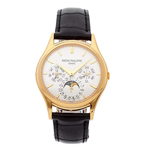 Patek Philippe Gold Dial - Patek Philippe Grand Complication White Dial 18kt Yellow Gold Mens Watch 5140J-001