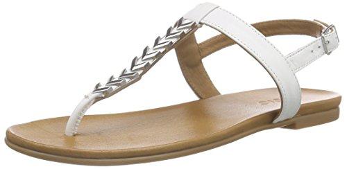 Inuovo 6361 - Sandalias Mujer Blanco - blanco (blanco)