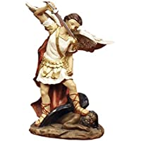 Articoli Religiosi by Paben Statua San Michele Arcangelo cm. 12 in Resina
