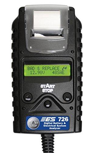 ESI ESI 726 Black 8'' x 4.5'' x 1.5'' Digital Battery and Electrical System Analyzer by ESI (Image #1)