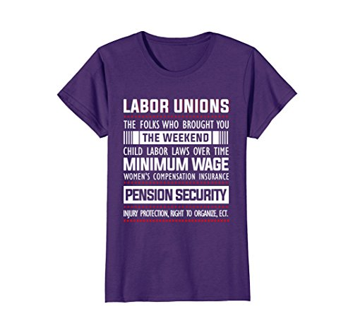 Womens Labor Unions Shirt   Happy Labor Day 2017 Shirt Large Purple