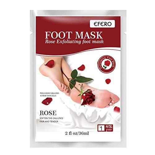 New 2019 Exfoliating Foot Peel Mask For Soft 1 Pair Baby Foot Peel - Peel (White)