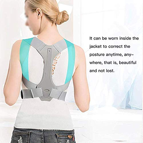 JCM Shoulder Support Invisible Correction Clothing Spine Correction Spine Back Artifact ZJ (Size : S) by JCM Back band (Image #4)