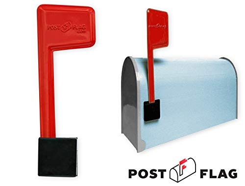 Universal Peel and Stick Replacement Mailbox Flag Replacement (No Tools Required, Fits Any Mail -