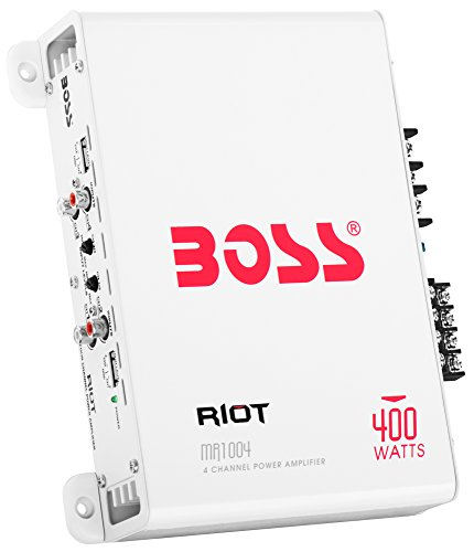 BOSS Audio MR1004 Marine Grade 400 Watt, 4 Channel, 2/4 Ohm