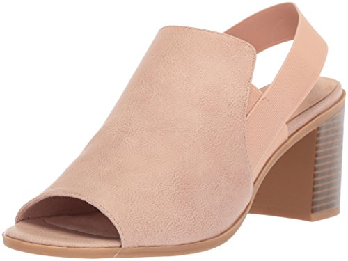 Women's Jetson Street Blush Gore Sandal Easy Heeled ZRaqaw