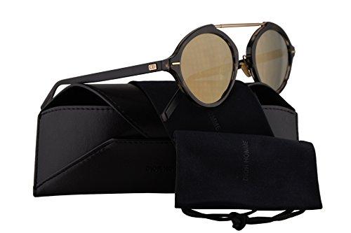 - Christian Dior Homme DiorSystem Sunglasses Havana Matte Black w/Grey Bronze Mirror Lens 49mm 2OSJO Dior System Dior System/S DiorSystem/S