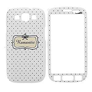 xiao Dots Pattern Front and Back Full Body Case for Samsung Galaxy S3 I9300
