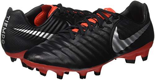 Noirs 7 006 Lt Mtallis Legend Nike Argent noir De Souliers Crimson Soccer Pro Fg Unisexes fT5qw8g