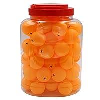 Softee Equipment Pelotas de Ping Pong Pack 60u 40mm Naranja