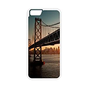 San Francisco Bridge Side IPhone 6 Case, Case for Iphone 6 4.7 Cute Evekiss - White