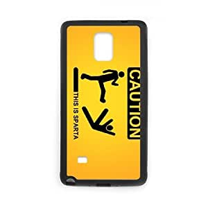 this is sparta 1920 163968 Samsung Galaxy Note 4 Cell Phone Case Black 53Go-120490